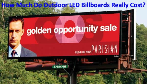 DOOH Mysteries: How Much Do Outdoor LED Billboards Really Cost?