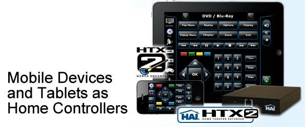 Mobile Devices and Tablets as Home Controllers