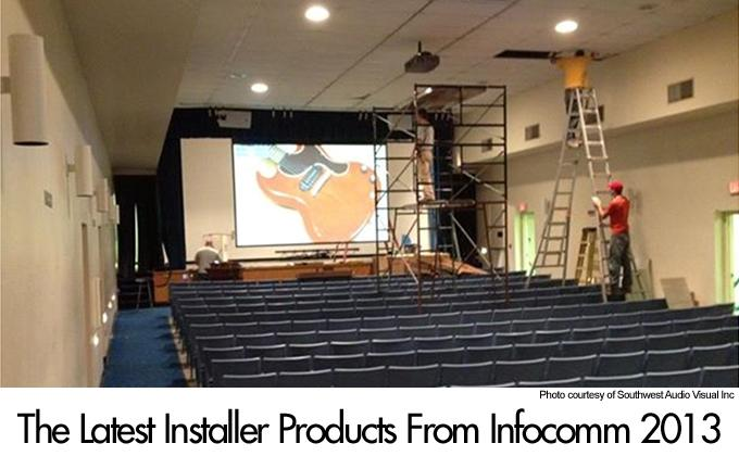 The latest installer products from InfoComm 2013