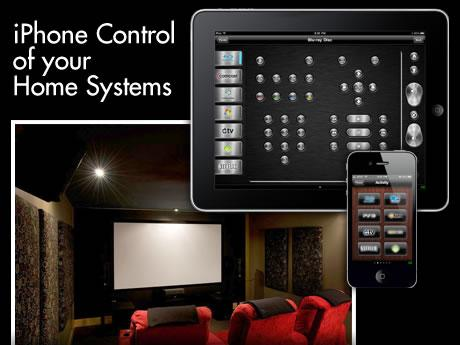 iPhone Control of your Home Systems