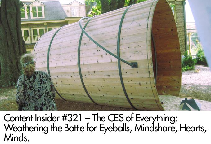 The CES of Everything: Weathering the Battle for Eyeballs, Mindshare, Heart