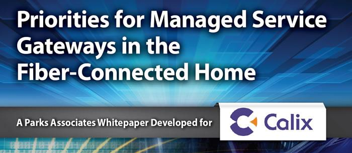 Priorities for Managed Service Gateways in the Fiber-Connected Home