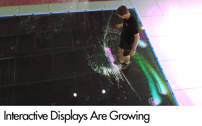 Interactive Displays Are Growing