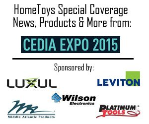 HomeToys.com - Special Tradeshow Coverage of CEDIA EXPO 2015.