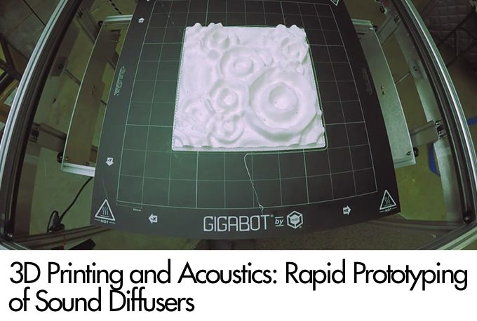 3D Printing and Acoustics: Rapid Prototyping of Sound Diffusers
