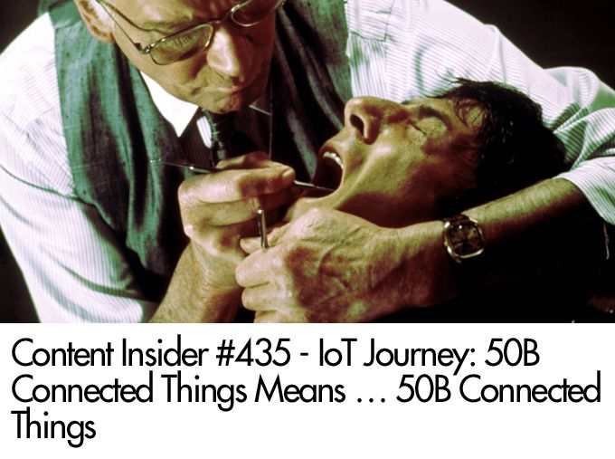 IoT Journey: 50B Connected Things Means … 50B Connected Things