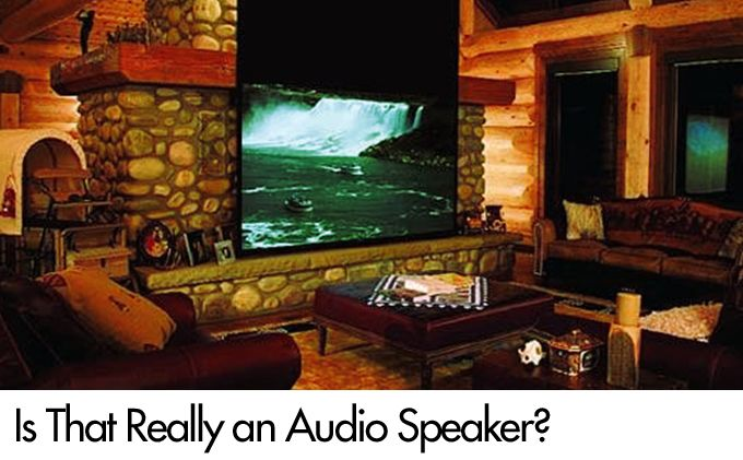 Is That Really an Audio Speaker?