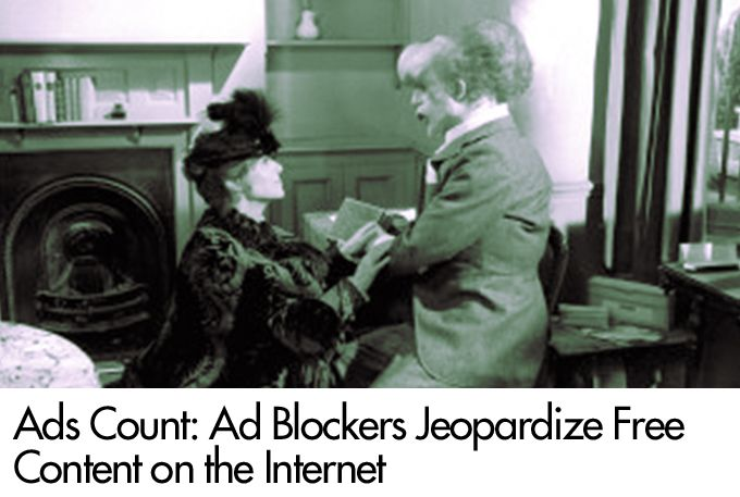 Ads Count: Ad Blockers Jeopardize Free Content on the Internet