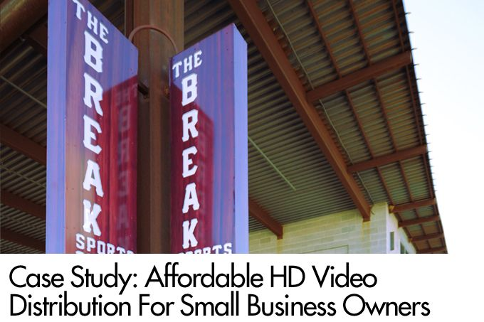Case Study: Affordable HD Video Distribution For Small Business Owners