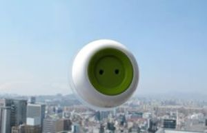 Just stick this portable outlet to your window to start using solar power