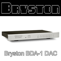BDA-1 External DAC from Bryston - The Absolute Sound Golden Ear award winner