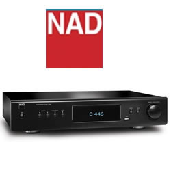 NAD C 446 Digital Media Tuner -  Network Audio Player Features Internet Radio and AM/FM Tuner