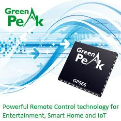 GreenPeak's GP565 – ZigBee for smart Remote Controls
