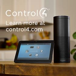 This is Control4 Home Automation with Amazon Alexa.
