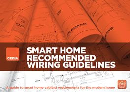 cedia launches video guide to smart home wiring hometoyscedia (the custom electronic design and installation association) has produced a new video guide to smart home wiring which introduces consumers,