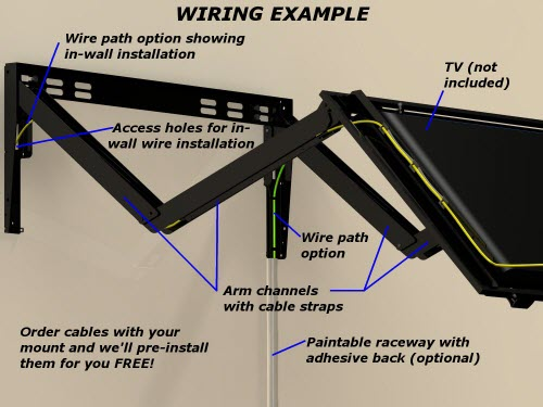 Installing The Tv Is Easy As Well Once Mount Installed Simply Set In Adjust Rubber Holders And En Them Down To Hold