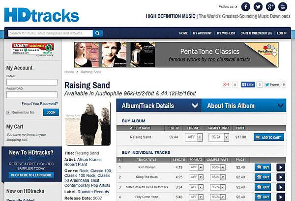 Image result for hdtracks chesky records