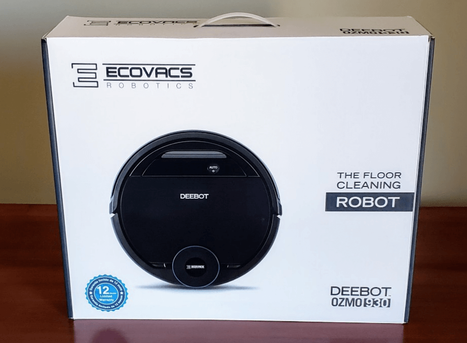 Robot Vacuum Review: Ecovacs DEEBOT OZMO 930